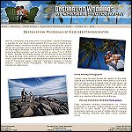 Destination Wedding Photography website - Boca Raton, FL