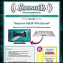 The Sounder television sound enhancer web site - Hudson, MA
